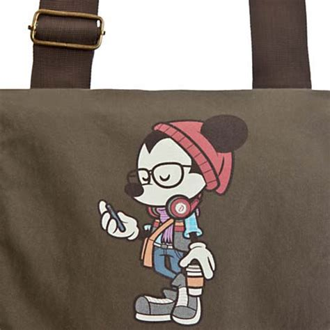 happiest hipster your wdw store disney canvas bag mickey mouse happiest