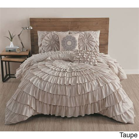 1000 ideas about ruffled comforter on pinterest