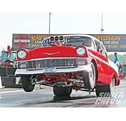 1956 Chevy Bel Air Wheelie Photo 1 Super Magazine
