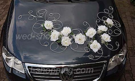Hochzeitswagen Deko by Hochzeitsauto Deko Wei 223 E