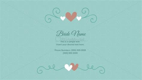 ppt templates for wedding card wedding cards powerpoint templates slidemodel