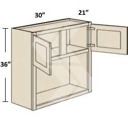 Rta Unfinished Kitchen Cabinets wbm3036 shaker rta maple white built in microwave wall