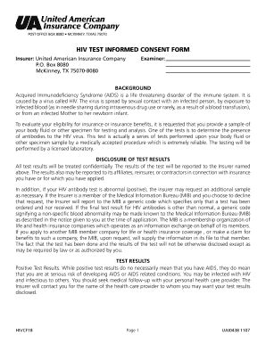 Informed Consent Form For Interview Templates Fillable Printable Sles For Pdf Word Hiv Consent Form Template