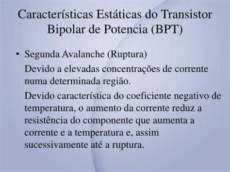 transistor bipolar regiao ativa ppt transistores de pot 234 ncia powerpoint presentation id 3263972