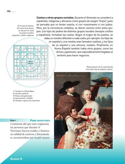 libro de historia 4 grado la sociedad virreinal historia 4o grado by rar 225 muri page 134 issuu