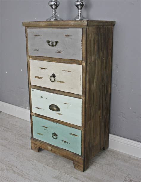 Holz Kommode by Kommode Holz Bunt Shabby Chic