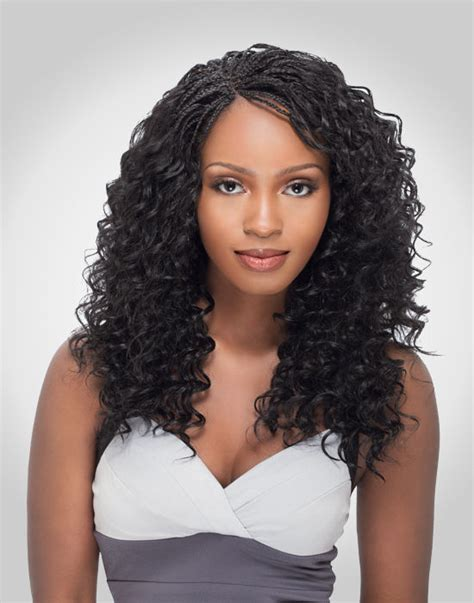 deep wavy micro braiding for older women bulk 100 human hair curly braid deep wave bulk for