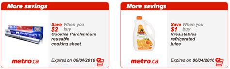 printable grocery coupons canada 2016 metro quebec canada exclusive printable coupons march 31