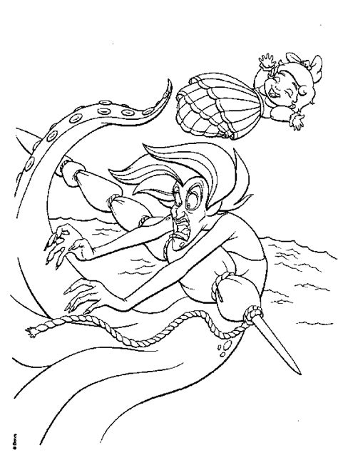 The Little Mermaid 2 Return To The Sea La Sirenetta 2 Mermaid 2 Coloring Pages