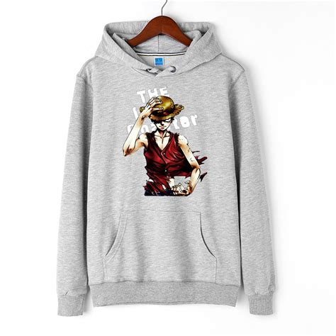 Hoodie Luffy one luffy pullover hooded hoodie anime store