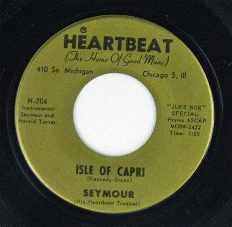 Isle Of Records Seymour It Had To Be You Isle Of Heartbeat Records H 704 Trumpet Still