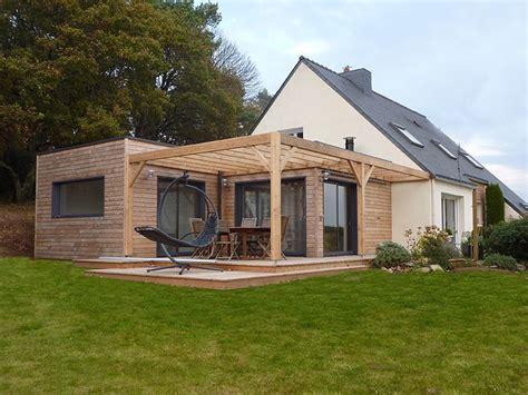 terrasse 50 m2 extension de plein pied en toit terrasse 50 m2 sur maison