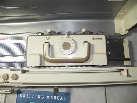 singer knitting machine singer memo matic 700 knitting machine