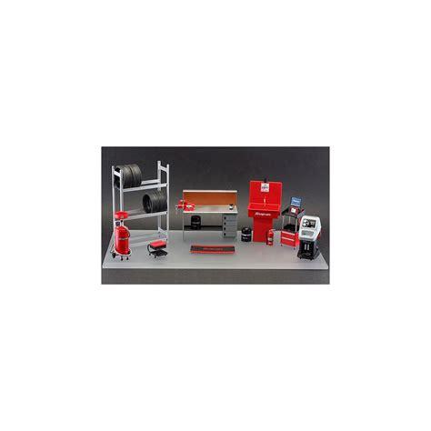 Model Car Garage Diorama Accessories by Tsm Model Snap On 1 18 Garage Essentials 2 Accessories