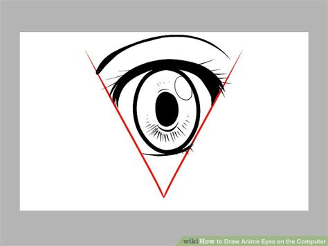 3 ways to draw anime eyes wikihow how to draw anime eyes on the computer with pictures