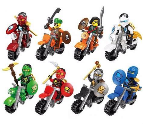 Lego Ninja Motorrad ninjago motorr 228 der 3 figuren mit lego kompatibel in prag