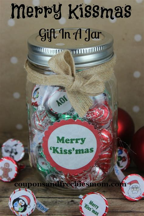 merry kissmas gift in a jar coupons and freebies mom