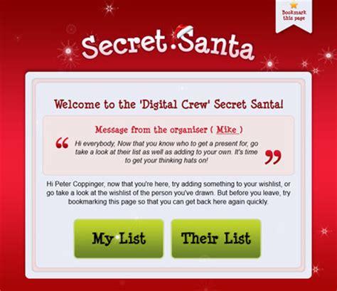 secret email secret santa iphone app by peapod apps