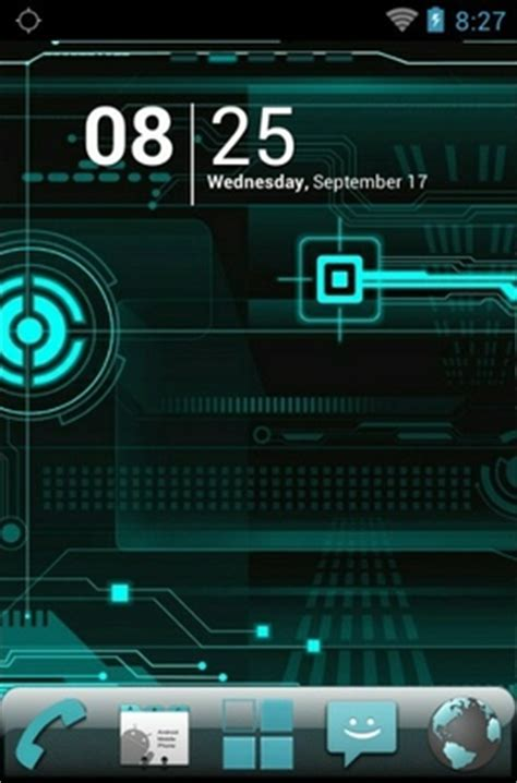 themes launcher cyanogen cyanogen android theme for go launcher androidlooks com