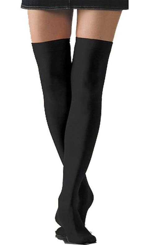 pic thigh highs on floor solid opaque thigh high blingby