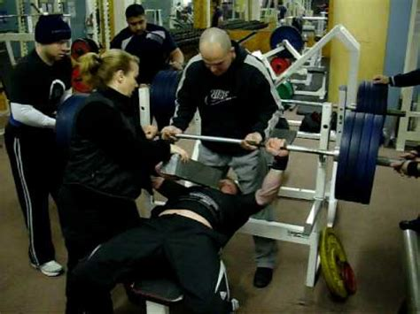 average person bench press ian wells 180kg bench press to large block youtube