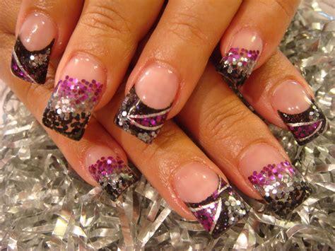 Acrylic Nails last days of summer nail acrylic