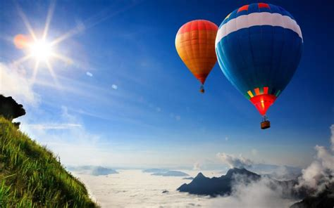 hd hot air balloons wallpaper