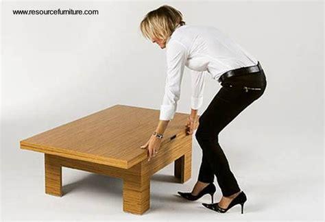 genial  espacios pequenos mesa ratona expandible  mesa de comedor   personas
