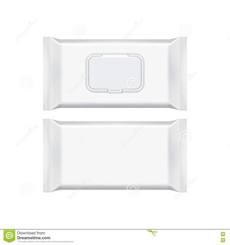 blank packaging templates blank packaging template mockup isolated on white stock vector image 72199701