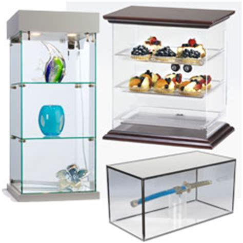 countertop display cases acrylic plastic tempered