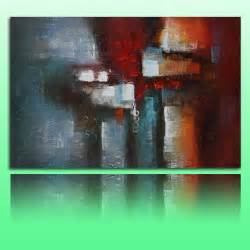 modern abstract canvas wall on canvas modern abstract framed wall decor
