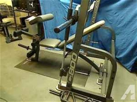 pro form c800 weight bench smith machine exerciser