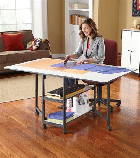joann fabrics sewing table adjustable home hobby table wall joann