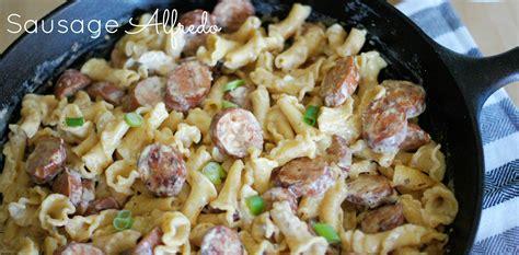 turkey sausage alfredo pasta recipe hillshire sausage alfredo recipe