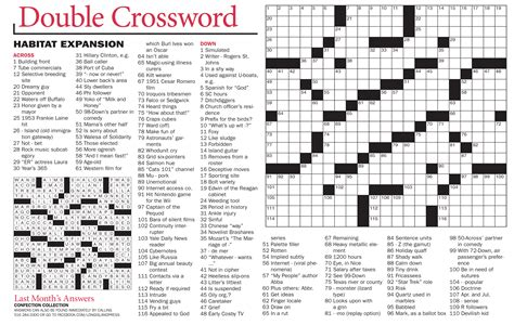 swing around crossword crosswords long island news from the long island press