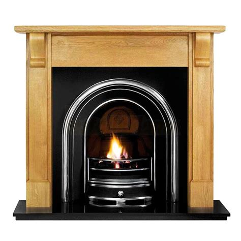 bedford and jubilee arched insert fireplace