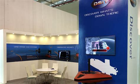 dsit exhibited its shield family of underwater security