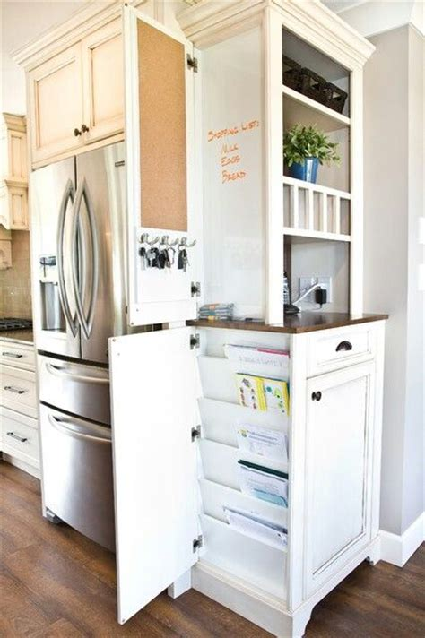 kitchen cabinet ends end cabinet with clever storage kitchens pinterest
