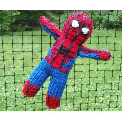 spiderman knitting pattern book spiderman toy knitting pattern by stana d sortor