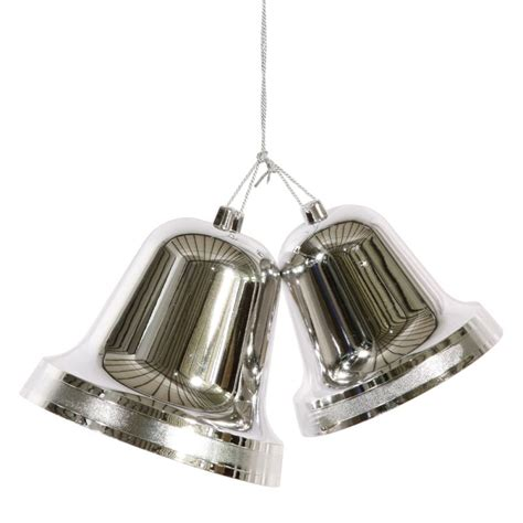 Silver Bell by At Winterland Wl Bell 9 5 Slv Silver 95 Inch