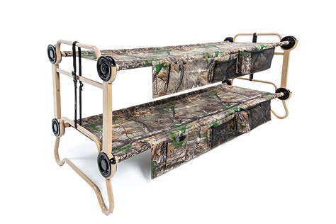 disc o bed disc o bed cam o bunk l realtree with organizers disc o bed