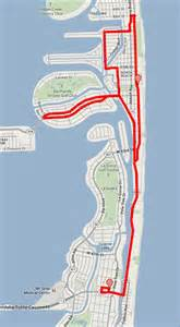 Miami Trolley Map by News City Of Miami Beach