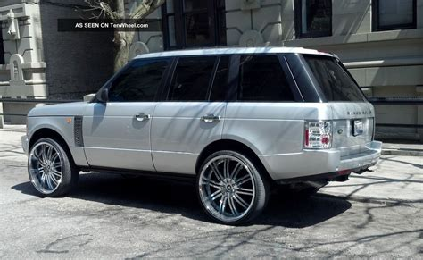 chrome range rover 2004 range rover hse with 26 quot chrome rims