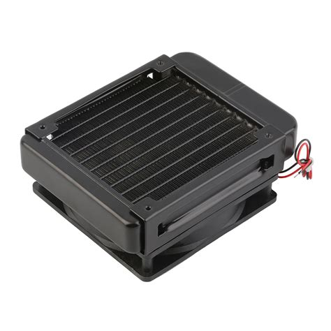 water cooler fan pc 120mm water cooling cpu cooler row heat exchanger radiator