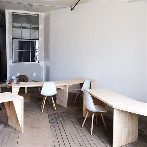 plywood office desk 25 best ideas about plywood desk on