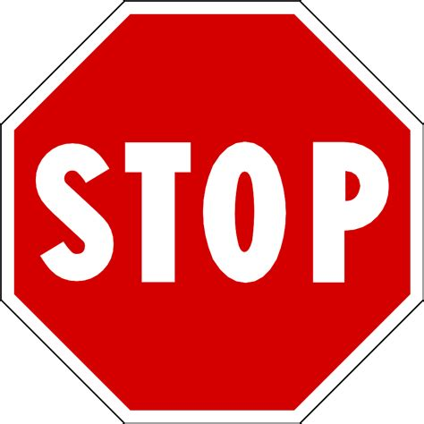 Stop X free printable stop sign clipart best