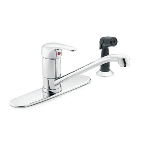 Commercial Sink Faucets With Sprayer by Moen M Dura Commercial Single Handle Standard Kitchen