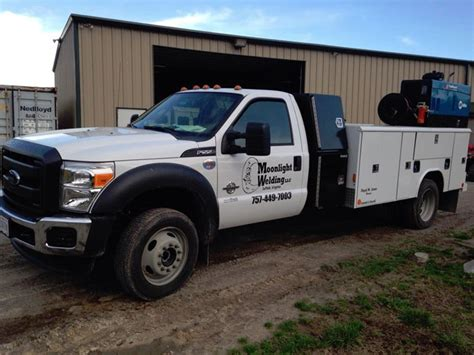 mobile truck new mobile welding truck moonlight welding llc