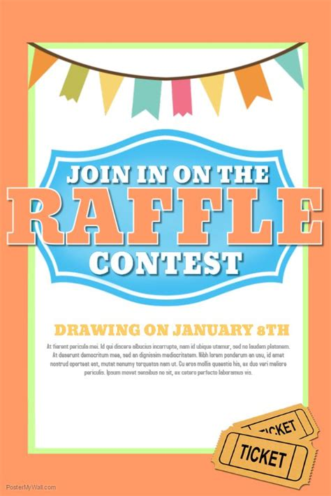 contest flyers templates 22 best contest posters images on poster