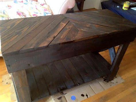 pallet sofa table pallet sofa table diy